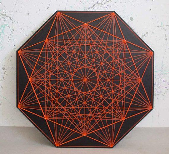 CRISANTEMO cadena arte geometría sagrada zen falta 3D del