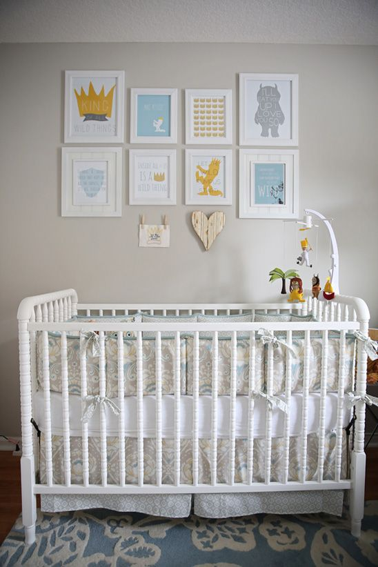 Where the Wild Things Are Themed Nursery