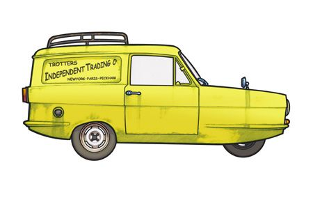 only fools and horses car clipart - Google Search