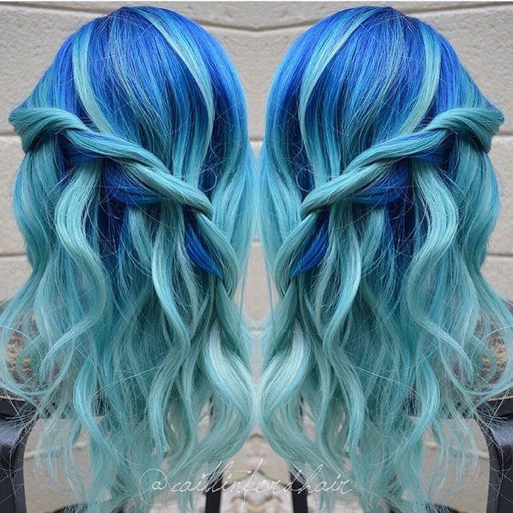 25 best ideas about blue hair colors on pinterest blue. Black Bedroom Furniture Sets. Home Design Ideas