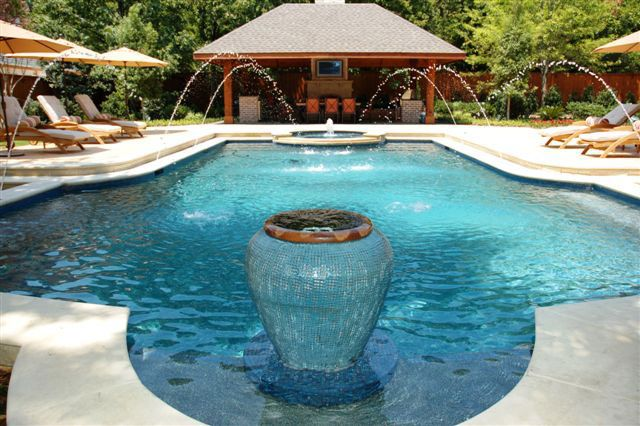 view photos of award winning pool designs and get pool design ideas for your in ground pool or spa all around pools builds and repairs custom gunite