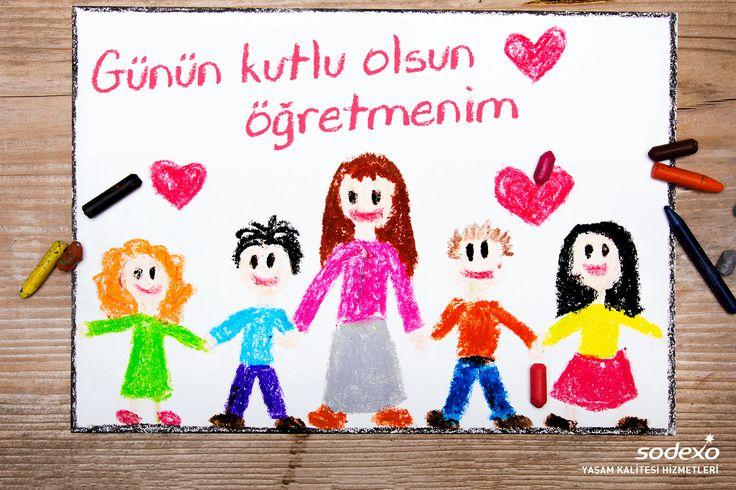 Yolumuza ışık tutan tüm öğretmenlerimizin, Öğretmenler Günü kutlu olsun. #24Kasim #öğretmenlergünü #öğretmen #kutluolsun #Sodexo