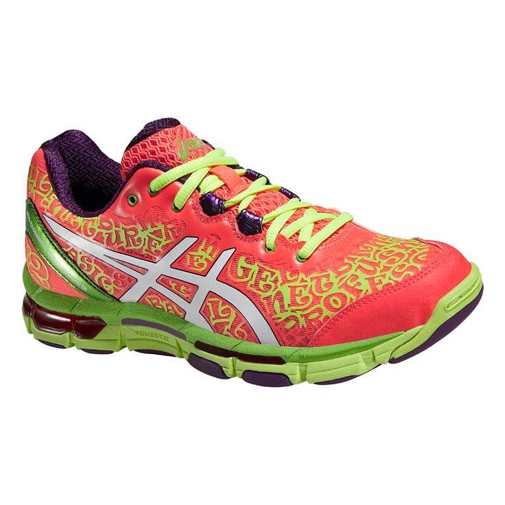 ASICS WOMENS GEL-NETBURNER PROFESSIONAL 12 col 2001 Netball Shoes SS16