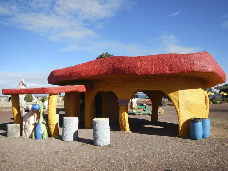 Flintstones Bedrock Valle AZ - Road Trip Planner for Visiting the Grand Canyon, Bedrock, Wupatki, and Sunset Crater in one day! Flagstaff, Sedona Arizona Area http://www.theconstantrambler.com/road-trip-planner-visiting-grand-canyon-south-rim/