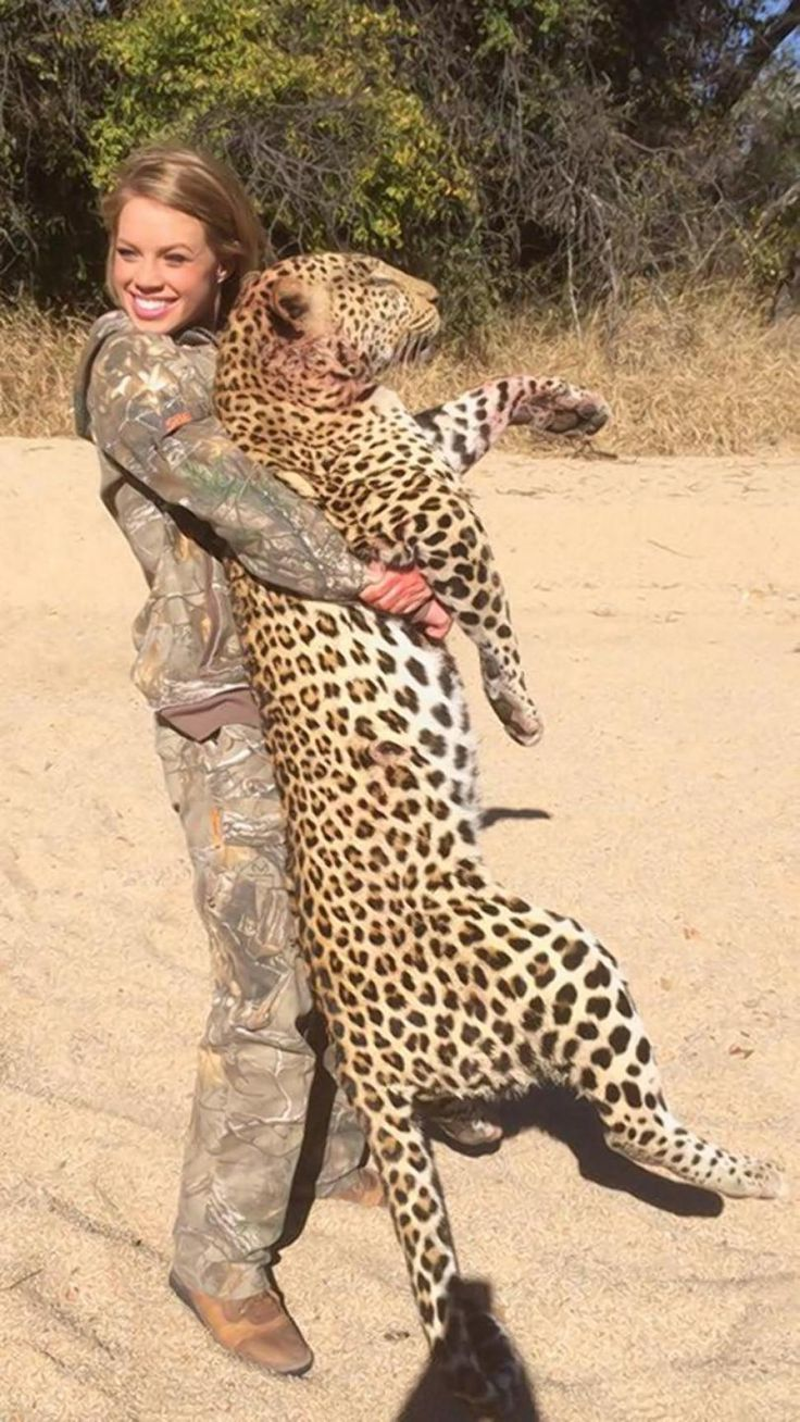 The 19-year-old is hoping to turn her passion for big game into a TV show.