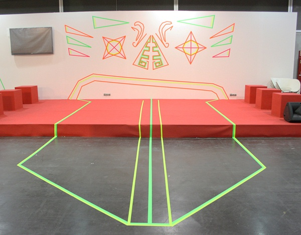 STAND ADCV. Feria Habitat 2012 by Alicia Cambra & Colectivo TAV, via Behance
