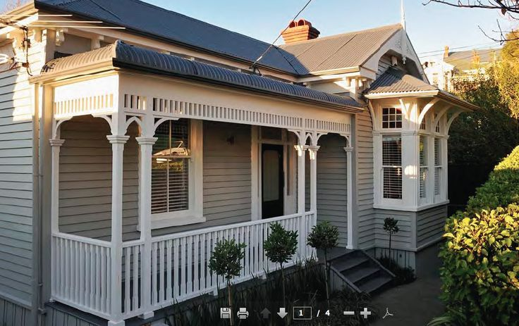 victorian exterior house neutral color schemes australia - Google Search