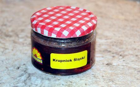 """Kaszanka słoikowa """"krupniok śląski"""" czarny z wkładką wątroby image 1"""
