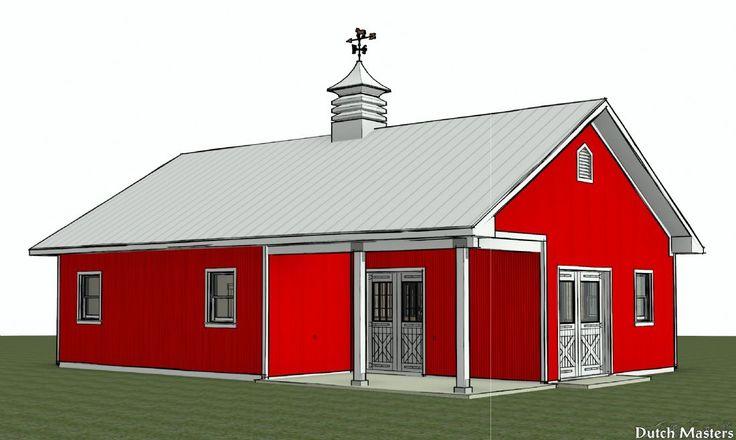 Backyard Hobby Barn - Dutch Masters Horse Barn Builders Ontario