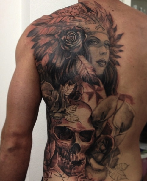 32 best ldf tattoo marrickville images on pinterest for Indian woman tattoo