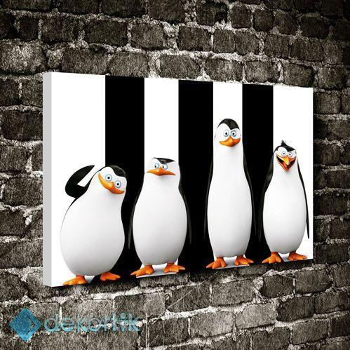 Penguenler Tablo #çocuk_odası_tabloları #genç_odası_tabloları