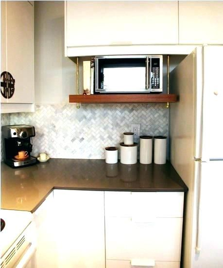 Peachy Lovely Microwave Wall Mount Shelf Wall Mounted Microwave Interior Design Ideas Jittwwsoteloinfo