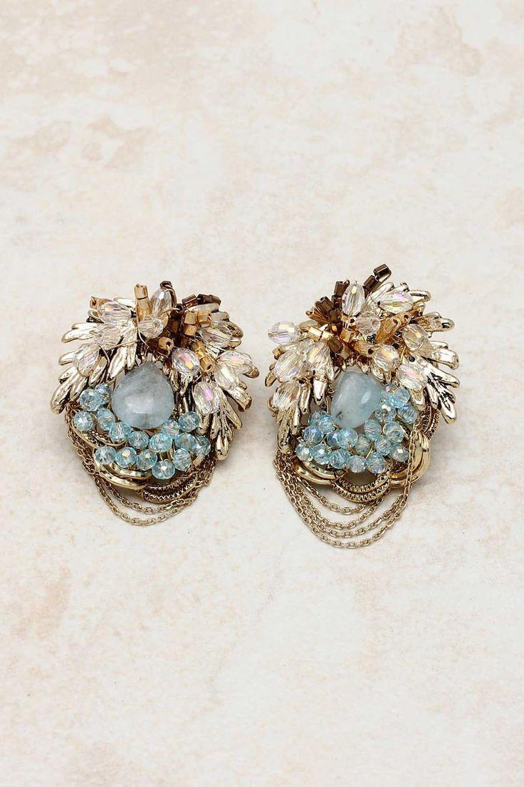 14K Swarovski Crystal Lamire Earrings on Emma Stine Limited: Fashion Earrings, Crystals Earrings, Crystals Lamir, Emma Stine, Costumes Jewelry, Swarovski Crystals, Lamir Earrings, 14K Swarovski, Jewelry Earrings