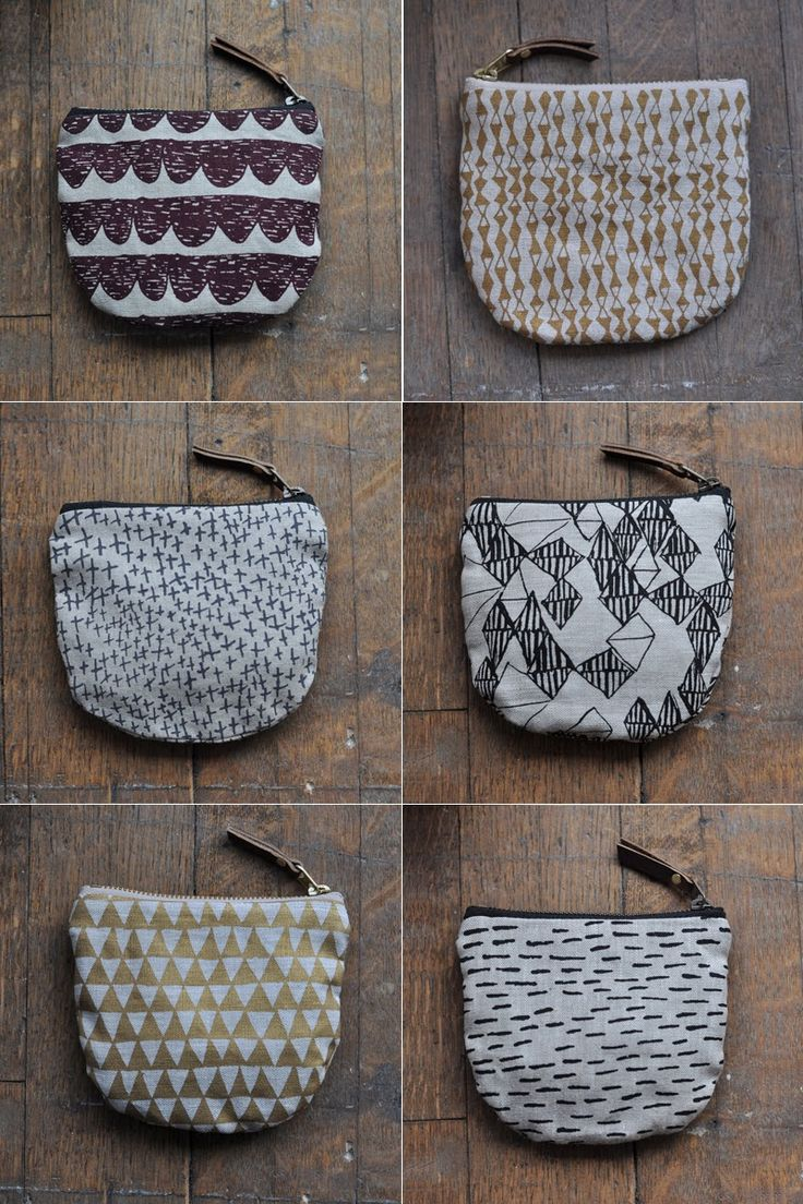 Bookhou at home | Zippered pocket pouches