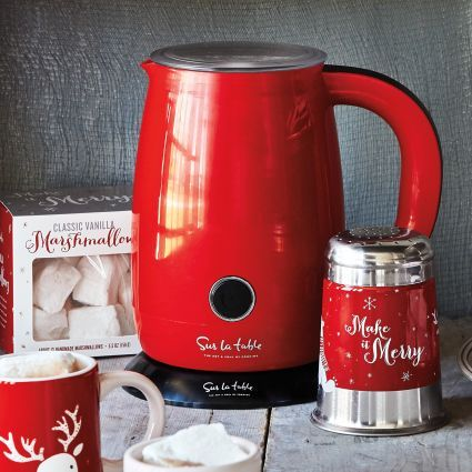 WANT! Automatic Milk Frother and Hot Chocolate Maker, available at #surlatable
