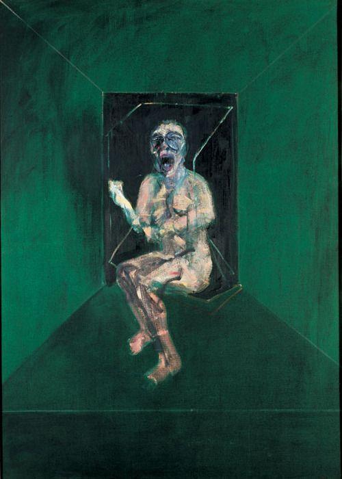ikilledjackjohnson:  Francis Bacon [Irish-born British Expressionist Painter, 1909-1992]