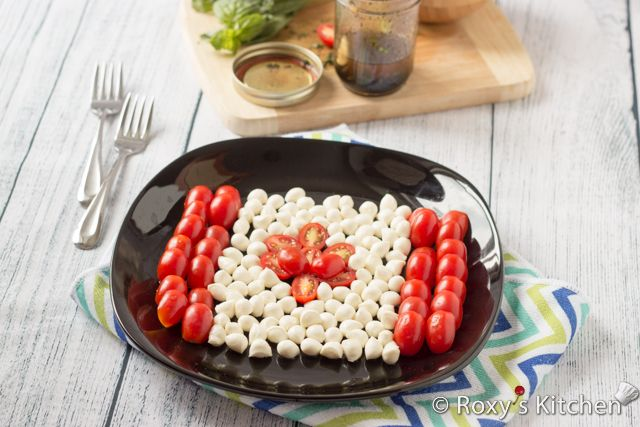 Caprese Salad is a classic Italian salad from the island of Capri. But who says we can't make a Caprese Salad to celebrate Canada Day?! It's easy to make, healthy, delicious and the perfect choice for the summer when we don't want to spend too much time indoors cooking. You only need 10 minutes of …