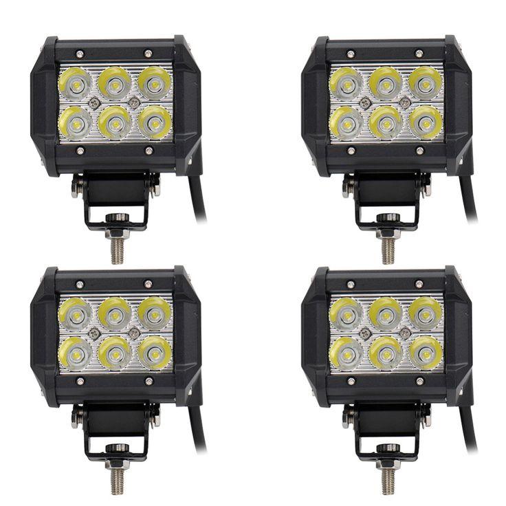 "$36.99 (Buy here: https://alitems.com/g/1e8d114494ebda23ff8b16525dc3e8/?i=5&ulp=https%3A%2F%2Fwww.aliexpress.com%2Fitem%2F4-Pcs-4-inch-18W-Cree-LED-Work-Light-Lamp-for-Motorcycle-Tractor-Boat-Off-Road%2F32647481088.html ) 4Pcs 4"" inch 18W LED Work Light Lamp for Motorcycle Tractor Boat Off Road 4WD 4x4 Truck SUV ATV Spot Flood 12v 24v for just $36.99"
