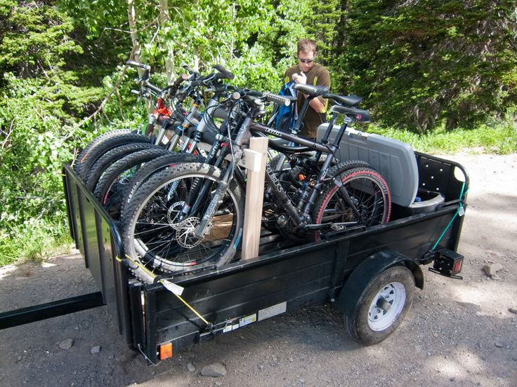 Bike Rack For 4x8 Trailer Beach Gear Truck Bike Rack