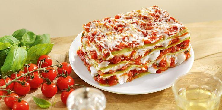 Lasagne met kabeljauw