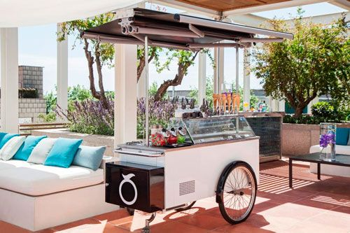 At Hotel Arts Barcelona, Arola restaurant offers a stylish brunch, which includes an ice-cream trolley for the ideal summer dessert. #Genuine