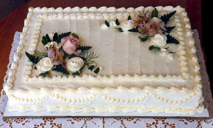 costco sheet cake decorated for wedding - Google Search