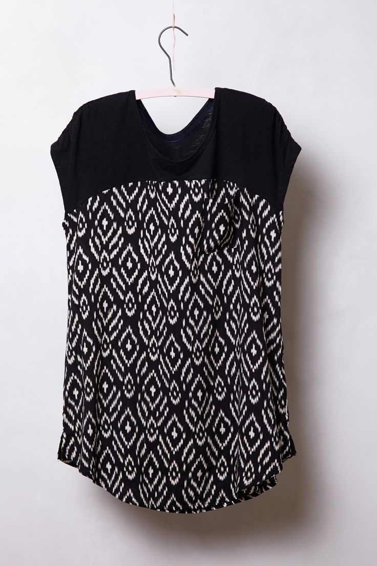 Pattern Drop Tee - Anthropologie.com
