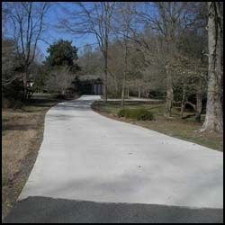 Cost for new concrete driveway