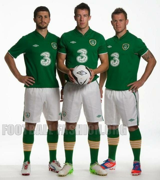 Republic of Ireland 2012/13 Umbro Home Jersey
