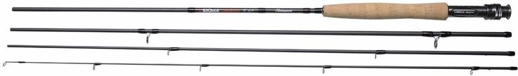 Genuine Shakespeare Sigma Supra Fly Fishing 4 Piece Fly Rod Carbon Carry Case