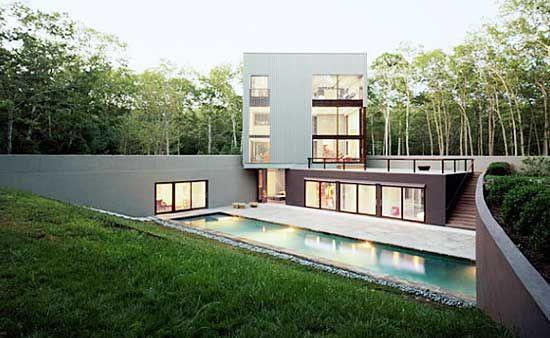 A Very Modern Looking Earth Berm Home Earth Berm Homes