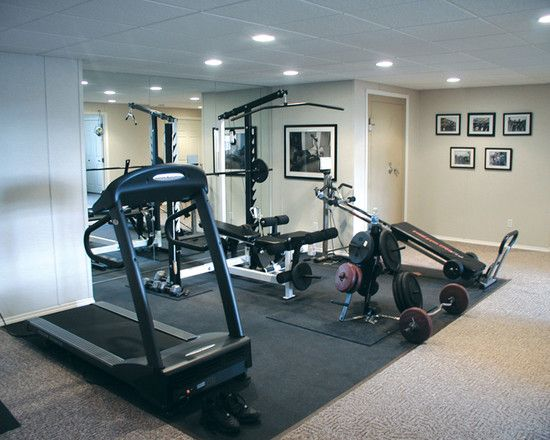 Best exercise rooms ideas images on pinterest