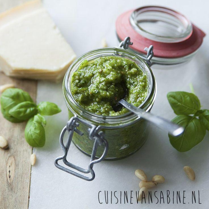 Fijn basis recept voor groene pesto