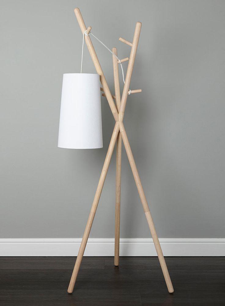 Photo 2 of Logan coat stand floor lamp