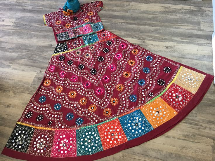 Traditional Garba Ghaghra Choli
