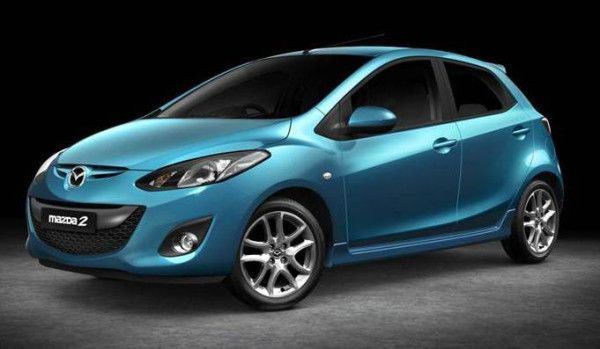 2014 Mazda MAZDA2 Sport Side View 600x349 2014 Mazda MAZDA2 Review, Prices and Quality