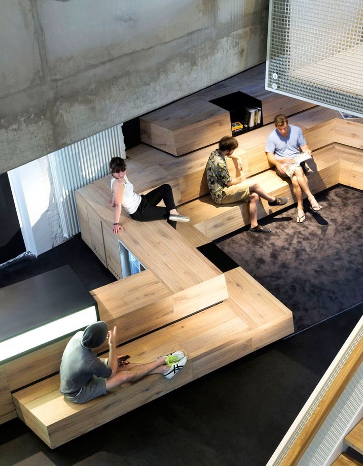 17 best company office ideas on pinterest creative for Most innovative office spaces