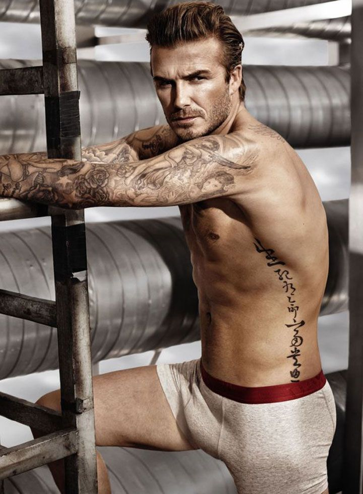 David Beckham Gets Half-Naked and Dirty in New Underwear Shoot - Cosmopolitan