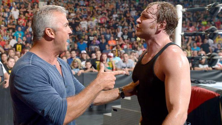 Dean Ambrose vs. Seth Rollins – Campeonato WWE: fotos