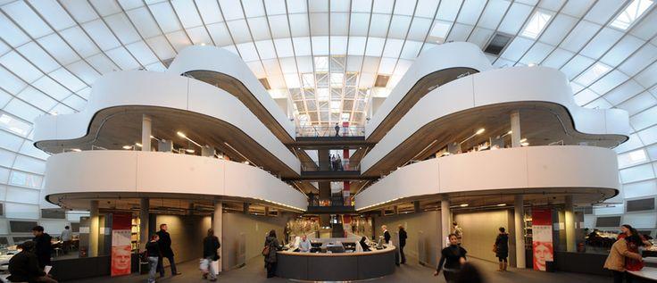 Philological library entrance of Freie Universität, Berlin © David Ausserhofer