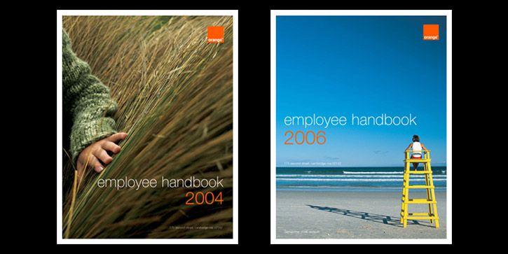 Free Employees Ppt Template Employee Handbook For