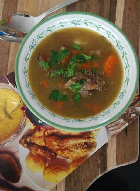 Bengali Mutton Stew -- and a song for Saraswati