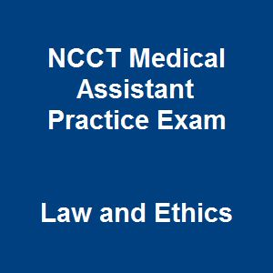 9 best medical assistant certification images on pinterest we offer 50 free ncct medical assistant practice exam questions and answers on law and ethics to improve your level and reinforce your strength before exams fandeluxe