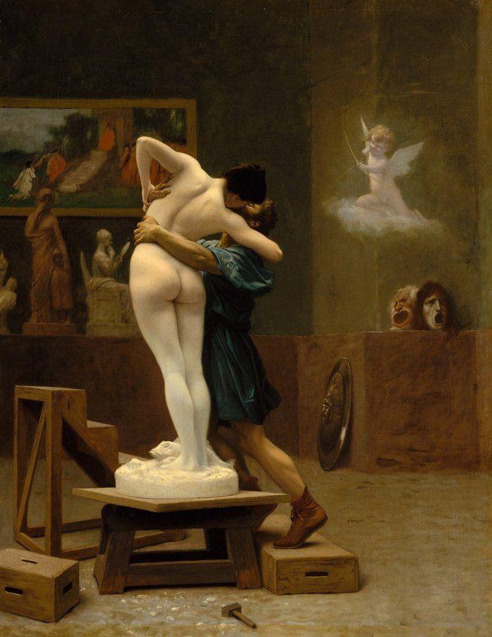 Jean-Léon Gérôme, 1824-1904, Pygmalion et Galatée.