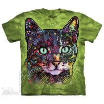 The Mountain, Watchful Cat felnőtt rövidujjú 3D amerikai póló