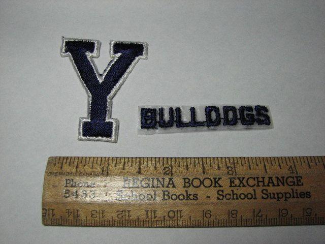 Yale University Bulldogs patch by MajorVintageShop on Etsy