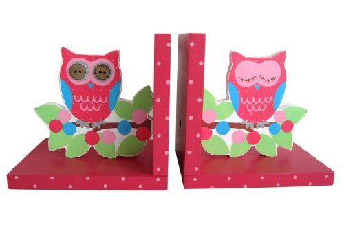 Amazon.com: Sass & Belle Painted Wooden Owl & Branch Bookends: Posters & Prints