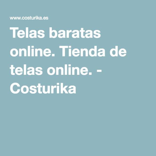 Telas baratas online. Tienda de telas online. - Costurika