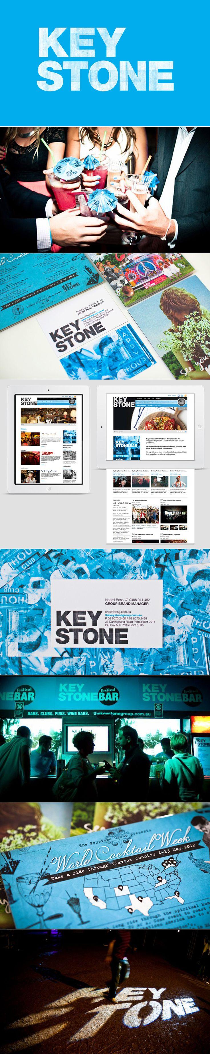The Keystone Group Rebrand.  Keystone is a lifestyle brand that runs Sydney best hospitality venues.