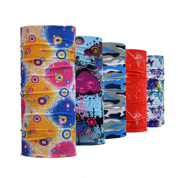 Outdoor Cycling seamless scarf multi functional Riding Bicycle magic bandanas sunscreen muffler unisex scarf hijab
